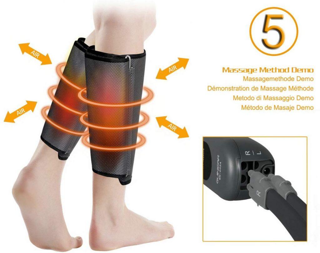 appareil massage jambes
