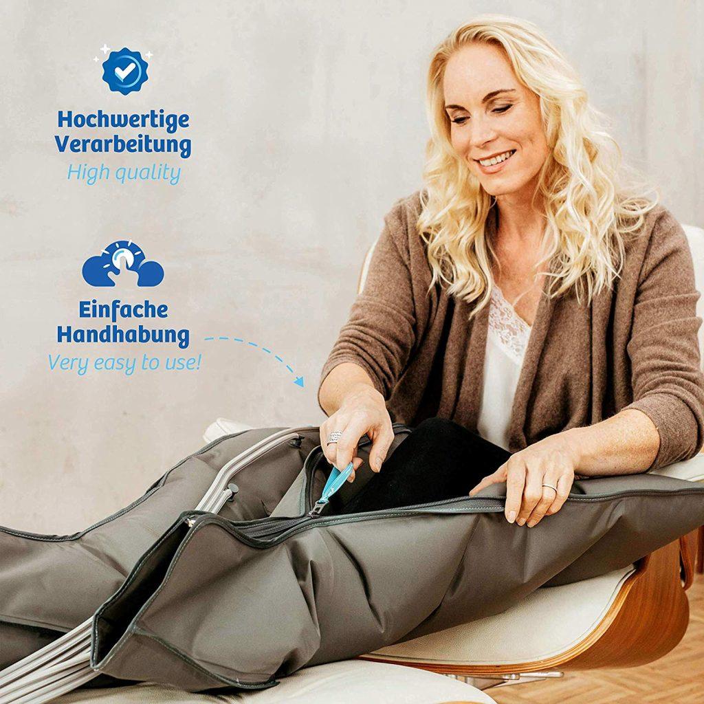 bottes massage pressotherapie
